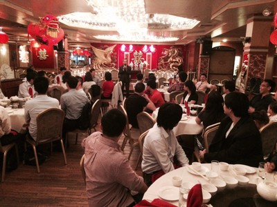 The Conference Dinner - EITA-YIC 2015