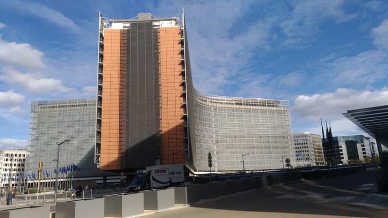 Berlaymont Building (EU Commission)_Brussels_Belgium_093018A
